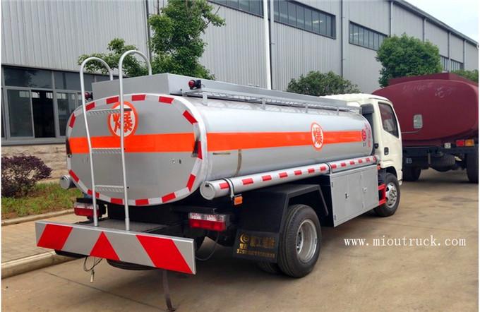 Carro del tanque de agua de 190 hp 4 x 2 combustible dual for Water salida trasera