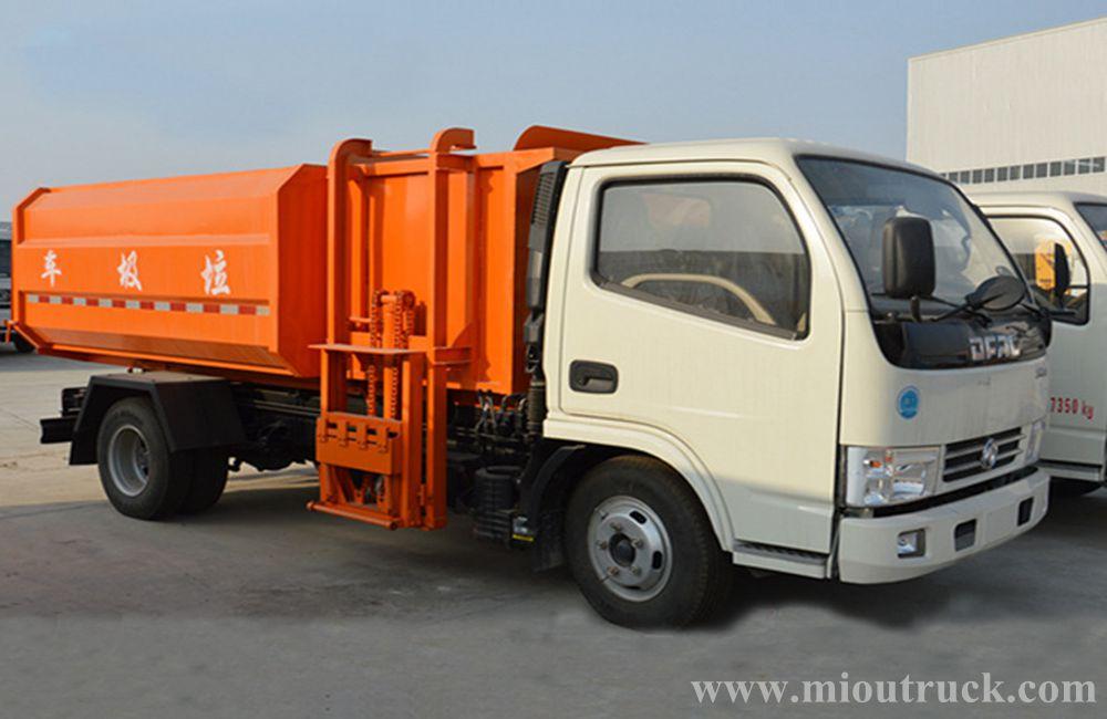 Garbage Truck Power Wheels : Dongfeng m³ volume capacity dumper garbage truck