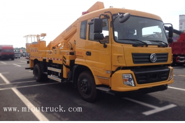 18m lifting height dongfeng 4*2 high altitude operation truck  SZD5110JGKD4