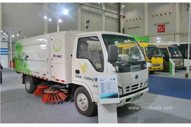 2016 new 68hp 4X2  electric Street and road sweeper