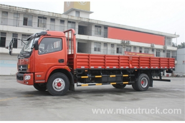 4x2 DFA1090S11D5 small flatbed 160hp 5 ton lorry light truck discount price