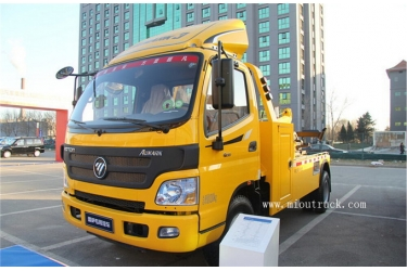 Best quality factory sale 4*2 156hp road rescue vehicle