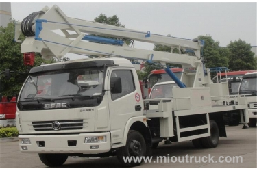 Best quality new coming faw 4x2 DFAC 18 meters aerial working truck