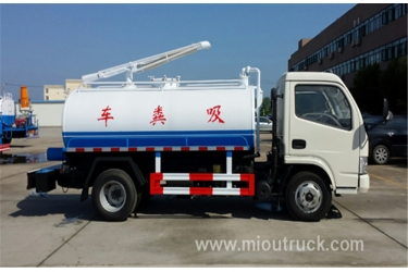 Brand New  Dongfeng fecal suction truck 4x2  Vacuum Sewage Truck  china manufacturers