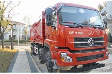 China Leading brand Dongfeng  heavy transport vehicles 8x4  dump truck  china manufacturers