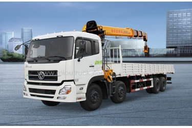 DONGFENG  8x4 Truck mounted crane for sale