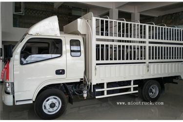 DongFeng 102hp stake truck trailer