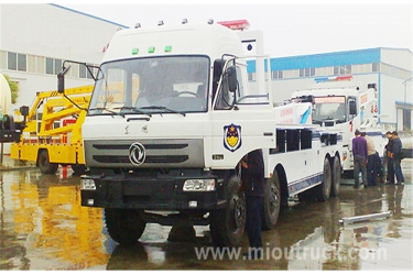 DongFeng 153 towing wreckers,road wrecker Wrecker truck supplier China