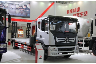 Dongfeng 190hp 4 × 2 low flatbed truck