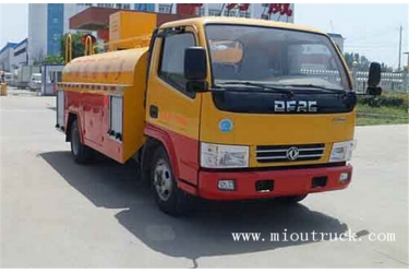 DongFeng 4CBM Fecal Sucktion Truck for Environment Part
