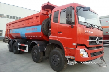DongFeng  8x4 12 wheeler dump truck and tipper truck