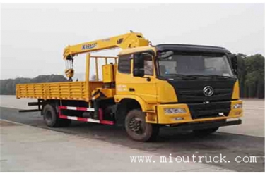 DongFeng Four wheel 6.3T overhead crane with cheap price