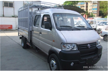 Dongfeng 1.25L 87hp gasoline Double row cargo truck