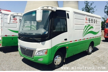 Dongfeng 115hp mini closed van cargo truck EQ5040XXY4A