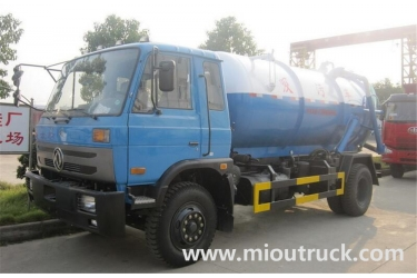 Dongfeng 135 4X2  sewage suction truck for china supplier hot sale
