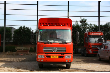 Dongfeng 160hp transport vehicle 6.75m  cargo truck