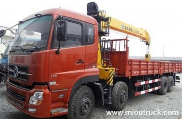 Dongfeng 16T telescopic boom truck mounted crane SQ16ZK3Q for sale