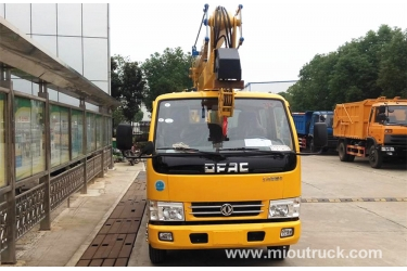 Dongfeng 18m  high altitude operation truck with basket with good quality for sale