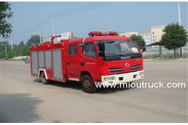 Dongfeng  3CBM water tank fire fighting truck