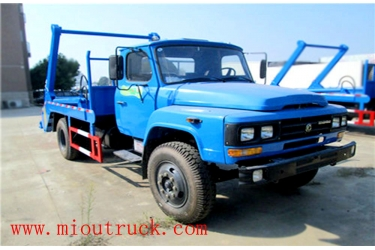 Dongfeng 4*2 4.5t Swing Arm Garbage Truck