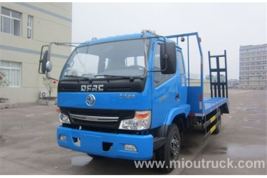 Dongfeng 4*2 car carrier flatbed truck payloading 10 ton