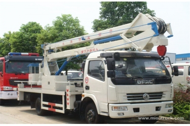 Dongfeng 4*2 high altitude operation truck overhead working truck china manufacturers