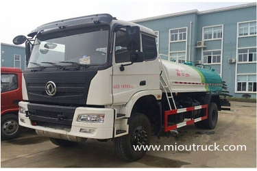 Dongfeng 4X4  water tanker fire truck