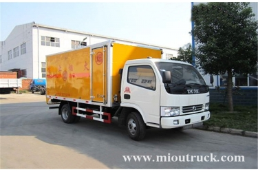 Dongfeng 4x2 1.5 ton rated weight Blasting Equipment Truck for sale