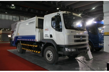 Dongfeng 4x2 180hp  Compression garbage truck ZLJ5160ZYSLZE4