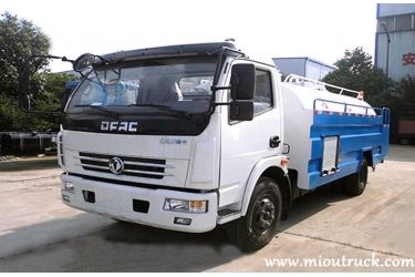 Dongfeng 4x2 5m³ cleaning tanker truck