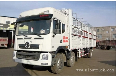 Dongfeng 6X2 245hp 9.6M Fence Cargo Truck For Sale