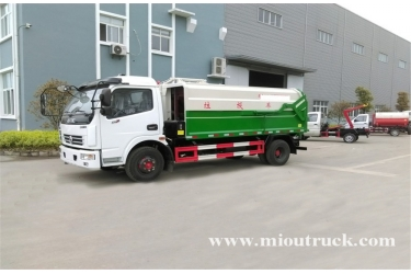 Dongfeng Duolika 4x2 8m³ Garbage Truck for sale