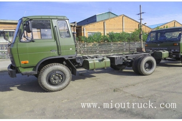 Dongfeng EQ1118GA 4 * 2 driving type 6T Desiel troop carrier vehicle