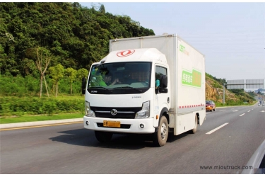 Dongfeng EQ5070XXYACBEV Van Truck 4x2 Eur5 for sale in China
