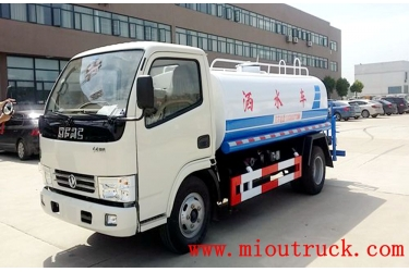 Dongfeng HLQ5070GSSE 4*2 5t water tanker truck