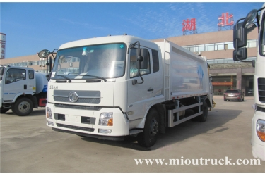 Dongfeng Tianjin 4ton rated weight Garbage Truck for sale