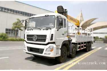 Dongfeng XCMG 16TON straight arm truck  crane