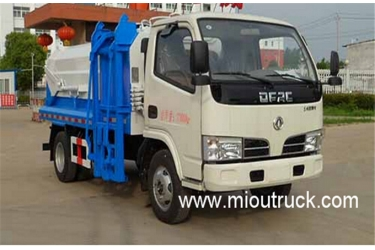 Dongfeng compression type docking garbage truck