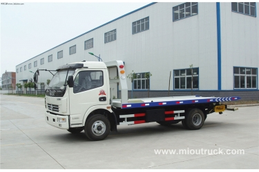 Dongfeng customized  5ton diesel road wrecker truck for hot sale