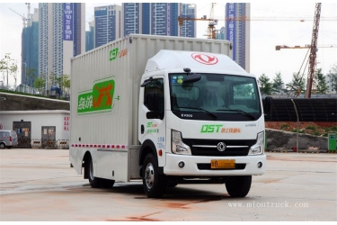 Dongfeng electric 82hp Single row Van truck
