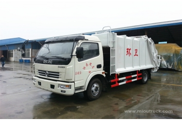 Dongfeng  small compactor Truck new design 4x2  garbage truck small garbage truck