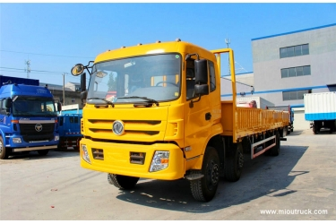 Dongfeng special lorry truck 6x2  210 horsepower 9.6 meters of the Bar-board truck (EQ1253GFJ1)