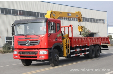 China Dongfeng truck mounted crane 6X4 China supplier  good quality for sale exporter