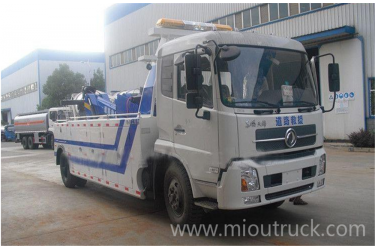 Dongfeng wrecker towing truck DFL1120B for china sales