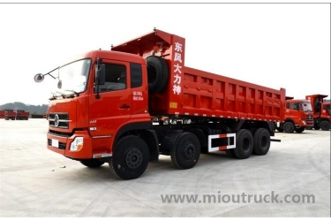 Dump truck supplier china Dongfeng 8*4 dump truck for china supplier with low price