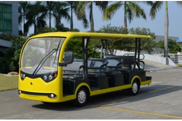 Electric Passengers shuttle car