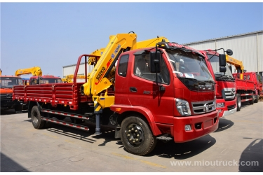 China supplier of truck 4 X 2 PHOTONS crane installed with good quality and price for sale