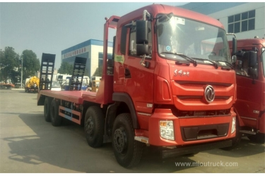 Flat bed trucks 4×2 low bed container flat truck flat body truck for sale