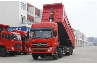 China Heavy Dump truck  Dongfeng  8x4  385 hoersepower Weichai engine  Dump truck supplier chin exporter