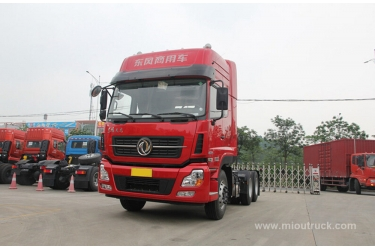 Leading Brand Donfeng 375horsepower  6x4  Tractor Truck  china manufacturers